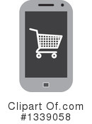 Shopping Cart Clipart #1339058 by ColorMagic