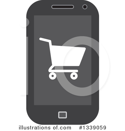 Shopping Cart Clipart #1339059 by ColorMagic