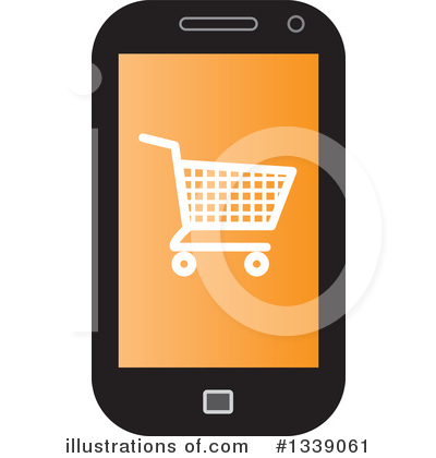 Shopping Cart Clipart #1339061 by ColorMagic
