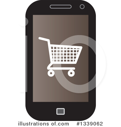 Shopping Cart Clipart #1339062 by ColorMagic