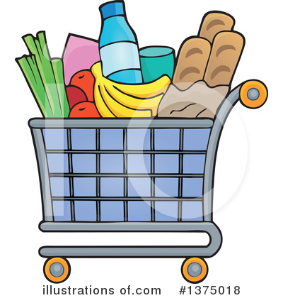 Shopping Cart Clipart #1375018 by visekart