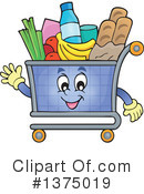 Shopping Cart Clipart #1375019 by visekart