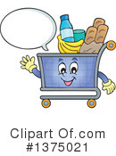 Shopping Cart Clipart #1375021 by visekart