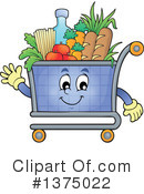 Shopping Cart Clipart #1375022 by visekart