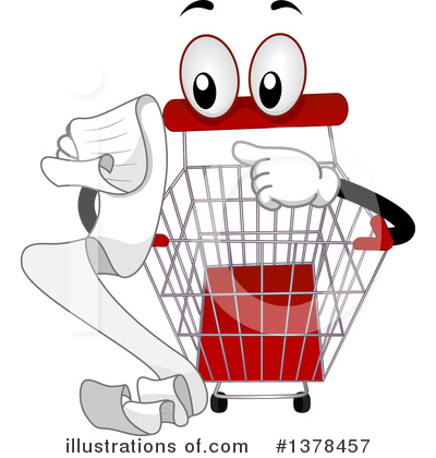 Shopping Clipart #1378457 by BNP Design Studio