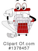 Royalty-Free (RF) Shopping Cart Clipart Illustration #1378457
