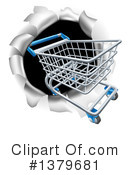 Shopping Cart Clipart #1379681 by AtStockIllustration