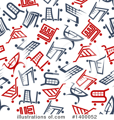 Shopping Cart Clipart #1400052 by Vector Tradition SM