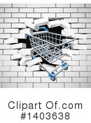 Shopping Cart Clipart #1403638