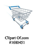 Shopping Cart Clipart #1680451 by AtStockIllustration