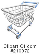 Shopping Cart Clipart #210972 by AtStockIllustration