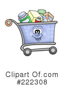 Shopping Cart Clipart #222308 by visekart
