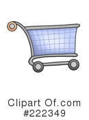 Shopping Cart Clipart #222349 by visekart
