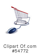 Shopping Cart Clipart #54772