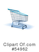 Shopping Cart Clipart #54962 by Julos