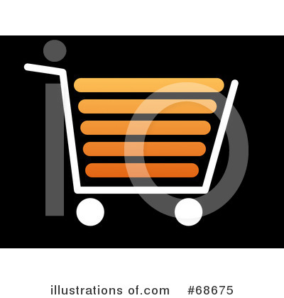 Shopping Cart Clipart #68675 by oboy