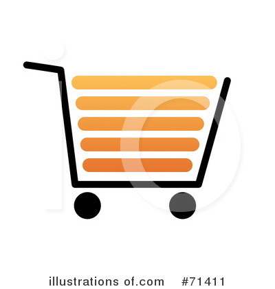 Shopping Cart Clipart #71411 by oboy