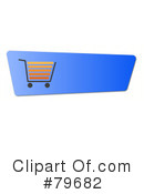 Royalty-Free (RF) shopping cart Clipart Illustration #79682