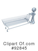 Shopping Cart Clipart #92845 by 3poD
