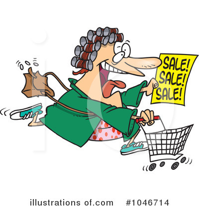 Shopper Clipart #1046714 by toonaday