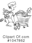 Shopping Clipart #1047862 by toonaday