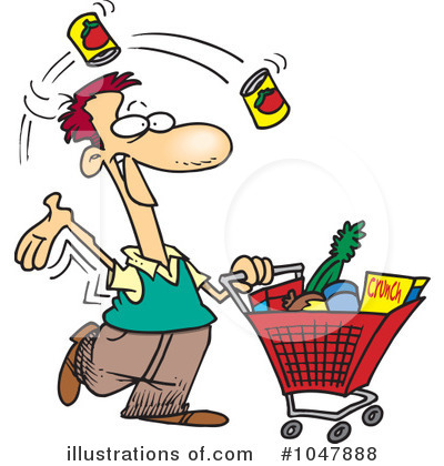 Shopper Clipart #1047888 by toonaday