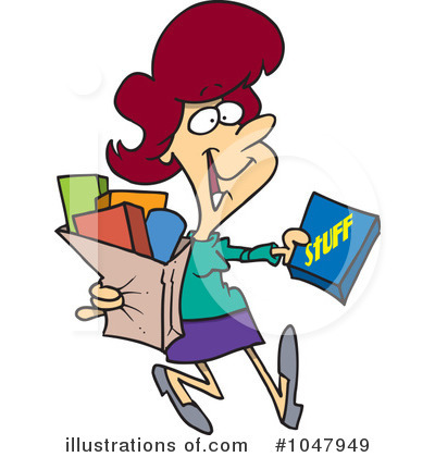 Shopper Clipart #1047949 by toonaday
