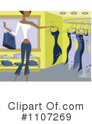 Royalty-Free (RF) Shopping Clipart Illustration #1107269