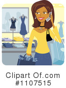 Shopping Clipart #1107515 by Amanda Kate