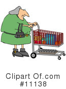 Royalty-Free (RF) Shopping Clipart Illustration #11138