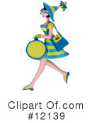 Royalty-Free (RF) Shopping Clipart Illustration #12139