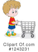 Shopping Clipart #1243231 by Alex Bannykh
