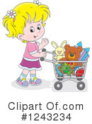 Shopping Clipart #1243234 by Alex Bannykh
