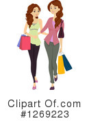 Royalty-Free (RF) Shopping Clipart Illustration #1269223