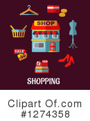 Shopping Clipart #1274358 by Vector Tradition SM
