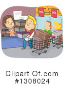 Shopping Clipart #1308024 by BNP Design Studio