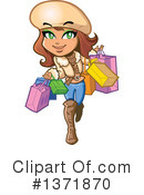Shopping Clipart #1371870 by Clip Art Mascots