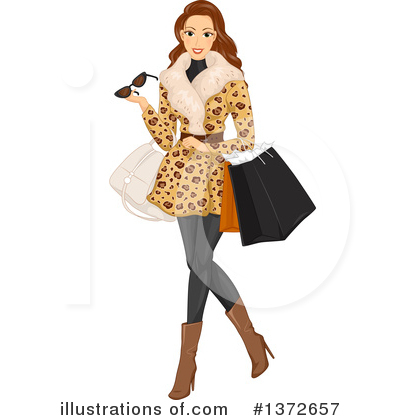 Shopping Clipart #1372657 by BNP Design Studio