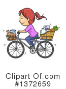 Royalty-Free (RF) Shopping Clipart Illustration #1372659