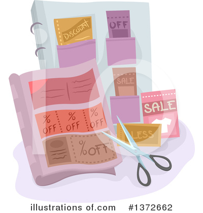 Coupons Clipart #1372662 by BNP Design Studio