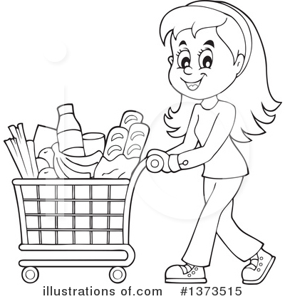 Shopping Clipart #1373515 by visekart