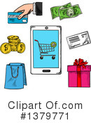 Shopping Clipart #1379771 by Vector Tradition SM