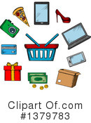Shopping Clipart #1379783 by Vector Tradition SM