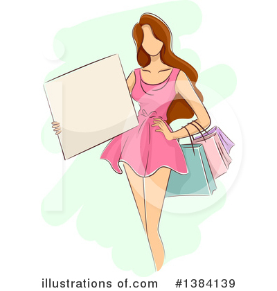 Shopping Bags Clipart #1384139 by BNP Design Studio