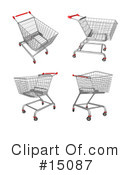 Royalty-Free (RF) shopping Clipart Illustration #15087
