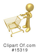 Royalty-Free (RF) Shopping Clipart Illustration #15319