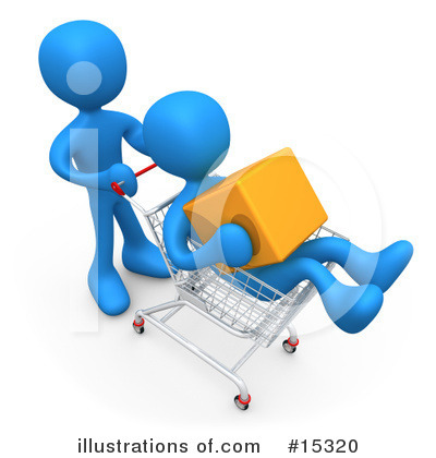 Shopping Clipart #15320 by 3poD