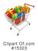 Royalty-Free (RF) Shopping Clipart Illustration #15323