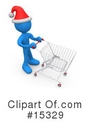 Royalty-Free (RF) Shopping Clipart Illustration #15329
