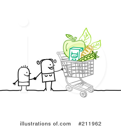 Groceries Clipart #211962 by NL shop